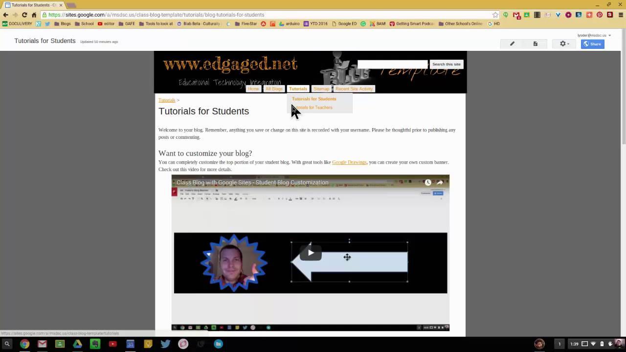 new google sites templates