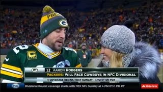 Packers vs Giants NFL WILD CARD GAME recap Odell Beckham jr FAIL