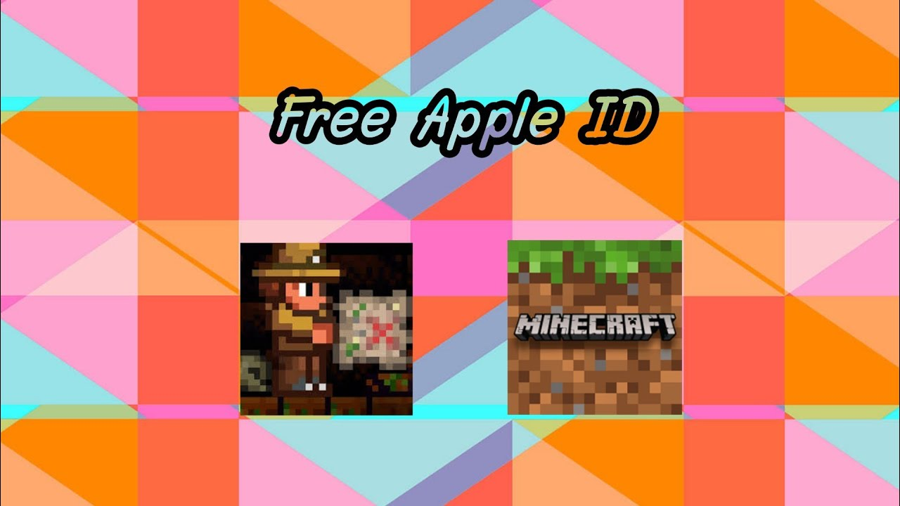 (UPDATE) How to download Minecraft PE | Terraria | free on appstore | Ios |  Apple ID