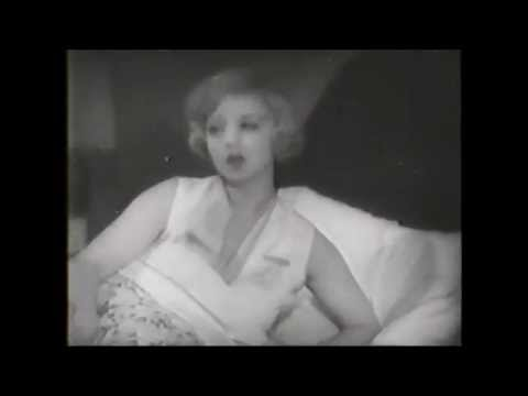 Alice White Sally Eilers In Bed ~ Pre-Code Broadway Babies
