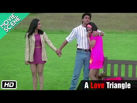 A Love Triangle - Movie Scene - Kuch Kuch Hota Hai - Shahrukh Khan, Kajol, Rani Mukerji