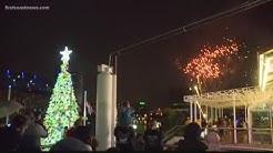 Jacksonville Christmas tree-lighting happens at Hemming Park as Landing waits to be demolished