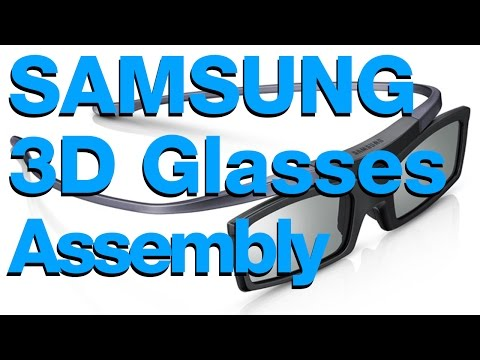 Samsung 3D Glasses Manual guide how they work and SetUp for 3D tv