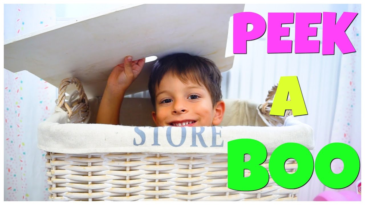 Papa Doigt Chanson - Vidéo cache-cache Pour Les Enfants