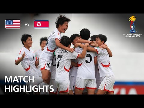 USA v Korea DPR- FIFA U-17 Women's World Cup 2018™ - Group C
