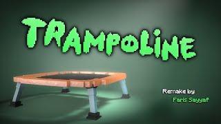 Minecraft Piggy Tales: Trampoline (Minecraft Remake Animation) - SpeeDanimT