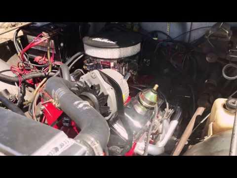 Jeep CJ7 350 V8 Edelbrock