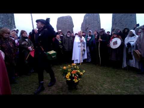 Oestara at Stonehenge spring equinox 2016