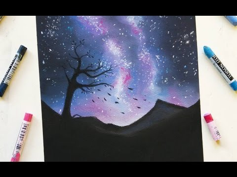 drawing-a-starry-night-with-soft-pastels-|-leontine-van-vliet