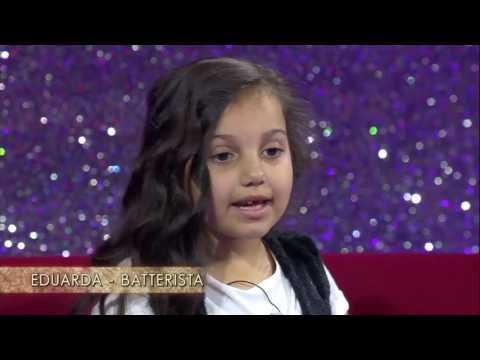 Apresentação da Eduarda Henklein no programa Little Big Show na Italia