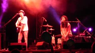 0 % Interest & The Remedy - Jason Mraz & Mona Tavakoli, Warsaw, POLAND, 21-08-2013