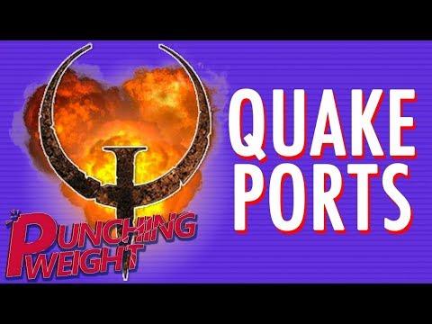 Quake Ports #1 (N64/Sat/PS1)   Punching Weight [SSFF]