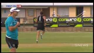 Port Adelaide Training | 9 News Adelaide