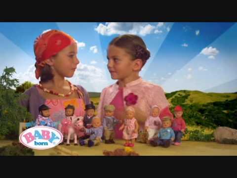 Mini Baby Born Commercial (Dutch) - YouTube
