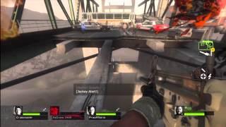 Left 4 Dead 2 Cold Stream DLC Part 3: Memorial Bridge Xbox 360 Gameplay