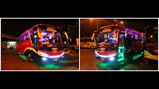 FIRST TIME Bertemu Bus Unik Ini | Sofa depan-belakang, LED, Lampu Disco, Telolet