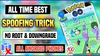 How to spoof in Pokemon go 2021 | Add Joystick in Pokemon go | Spoof without Root and Downgrade