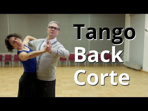How to Dance Tango - Back Corte   Routine and Figures