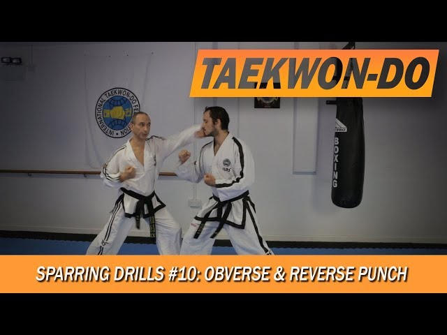 Sparring Drills #10: Obverse & Reverse Punch