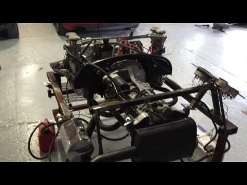 Porsche 914 Engine test stand