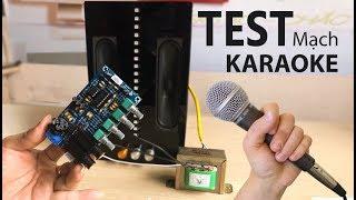 Review Và Test Mạch Karaoke M173 | Chế Bộ Karaoke Thôi AE | Banlinhkien.review