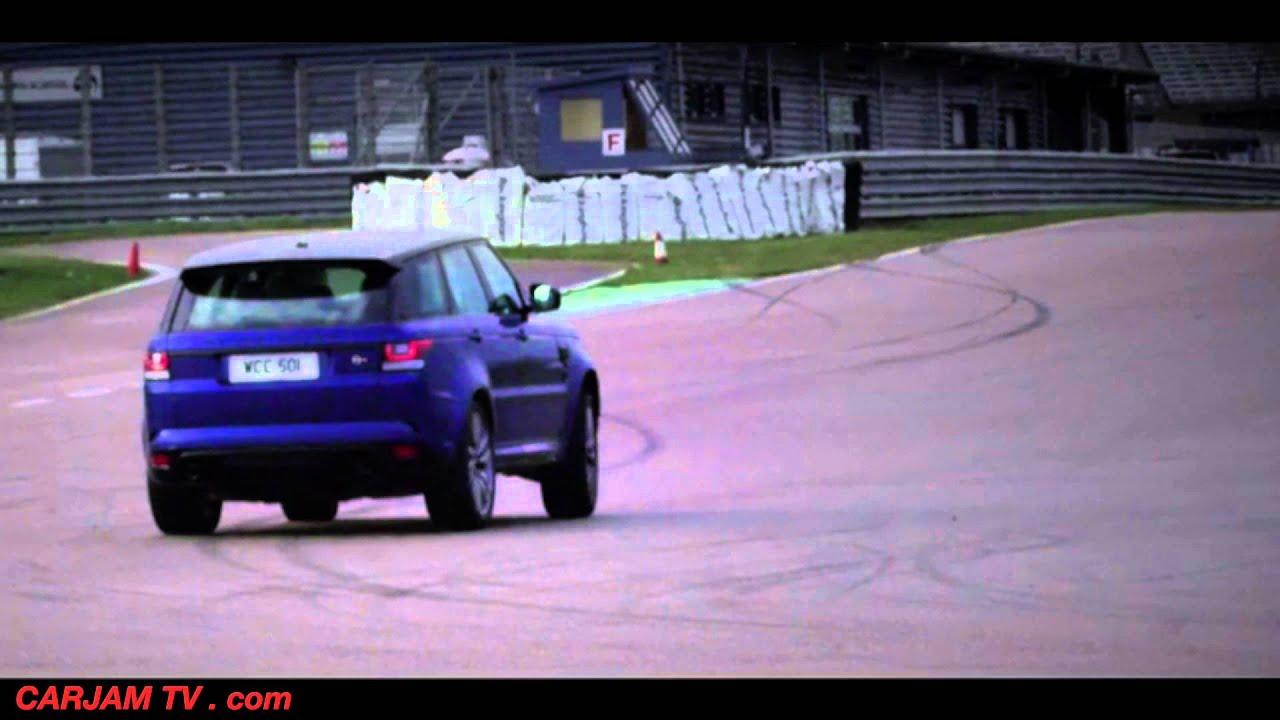 Sensational Range Rover Sport SVR Drifting 2015 mercial CARJAM