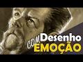 Desenho com Emoção - Abraham Ford - The Walking Dead ( TWD )
