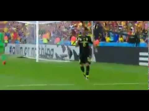 Juan Mata Goal vs Australia  0 - 3  World Cup 2014 06 23