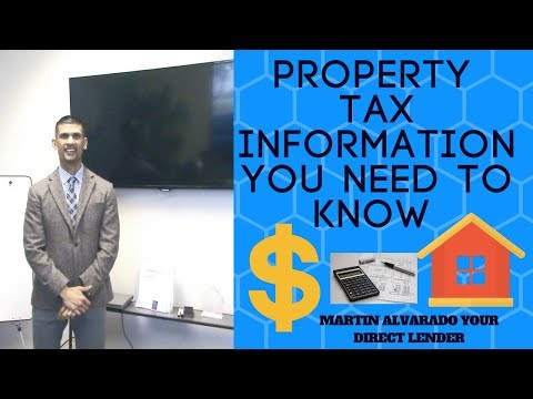 understanding property taxs before you buy