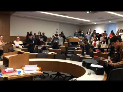 """""""We Will Survive (1L Year)"""", Professor Pettit's Section A Contracts Class, BU Law, Fall 2014"""