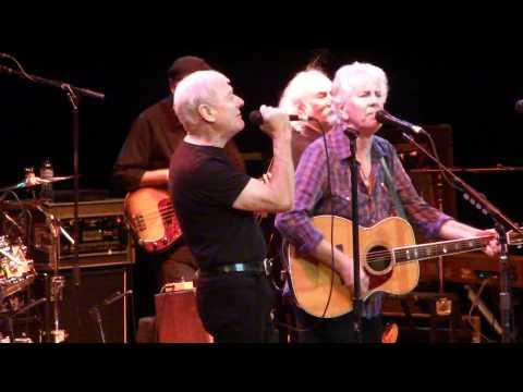 Graham Nash & Allan Clarke former Hollies sing Bus Stop with David Cros