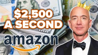 How Amazon CEO Jeff Bezos Will Make 1 Million Dollars During This 7 Minute Video