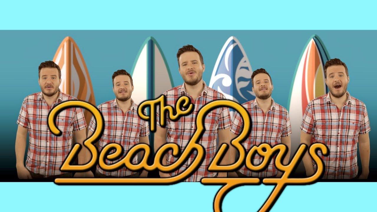 Ultimate Beach Boys Medley - Top 10 Songs in 5 Minutes