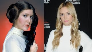 Billie Lourd Channels Princess Leia While Honoring Mom Carrie Fisher at Star Wars Celebration