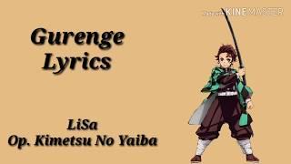 Opening Kimetsu No Yaiba Lisa Gurenge