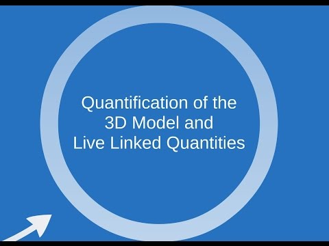 Webinar: Quantity Surveying and BIM: (Part 1/4: Quantification from 3D models)