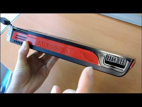 ATI Radeon HD 5870 Eyefinity 6 2GB DirectX 11 Video Card Unboxing & First Look Linus Tech Tips