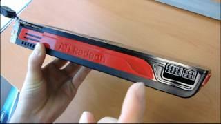 ati radeon hd 5870 eyefinity 6 2gb directx 11 video card unboxing first look linus tech tips