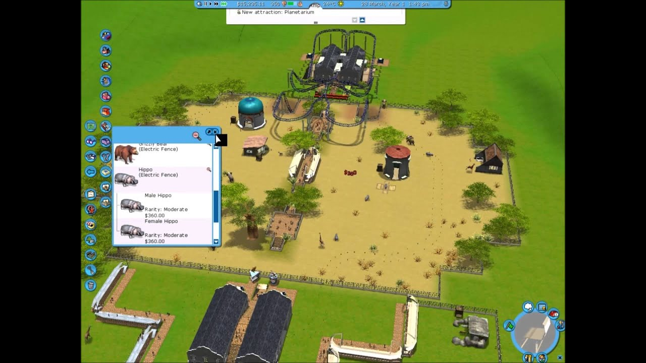 GAMER'S INTUITION - Game reviews - Rollercoaster Tycoon 3: Wild ...