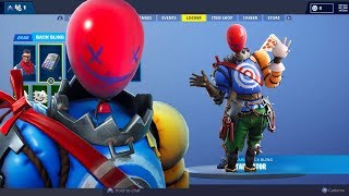 *NEW* Leaked Balloon skin INGAME with over 70+ Emotes Fortnite Battle Royal