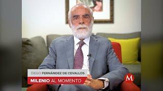 En primer año de AMLO, la economía y seguridad un desastre: Diego Fernández de Cevallos