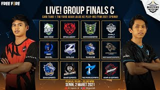 [2021] Free Fire Indonesia Masters 2021 Spring - Group Finals C