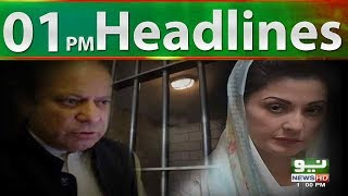Neo News Headlines, 01:00PM | Neo News | 21 August, 2018