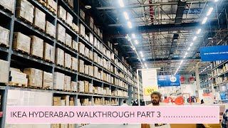 IKEA Hyderabad part 3 market place/ self service/ Ikea India/ Ikea checkout