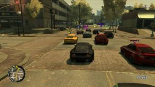 GTAIV TLAD: 2x Races - Cars n' bikes
