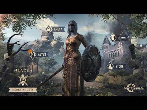 Elder Scrolls: Blades - Early Access - Abyss / Town / Quests - Mobile IOS / Android
