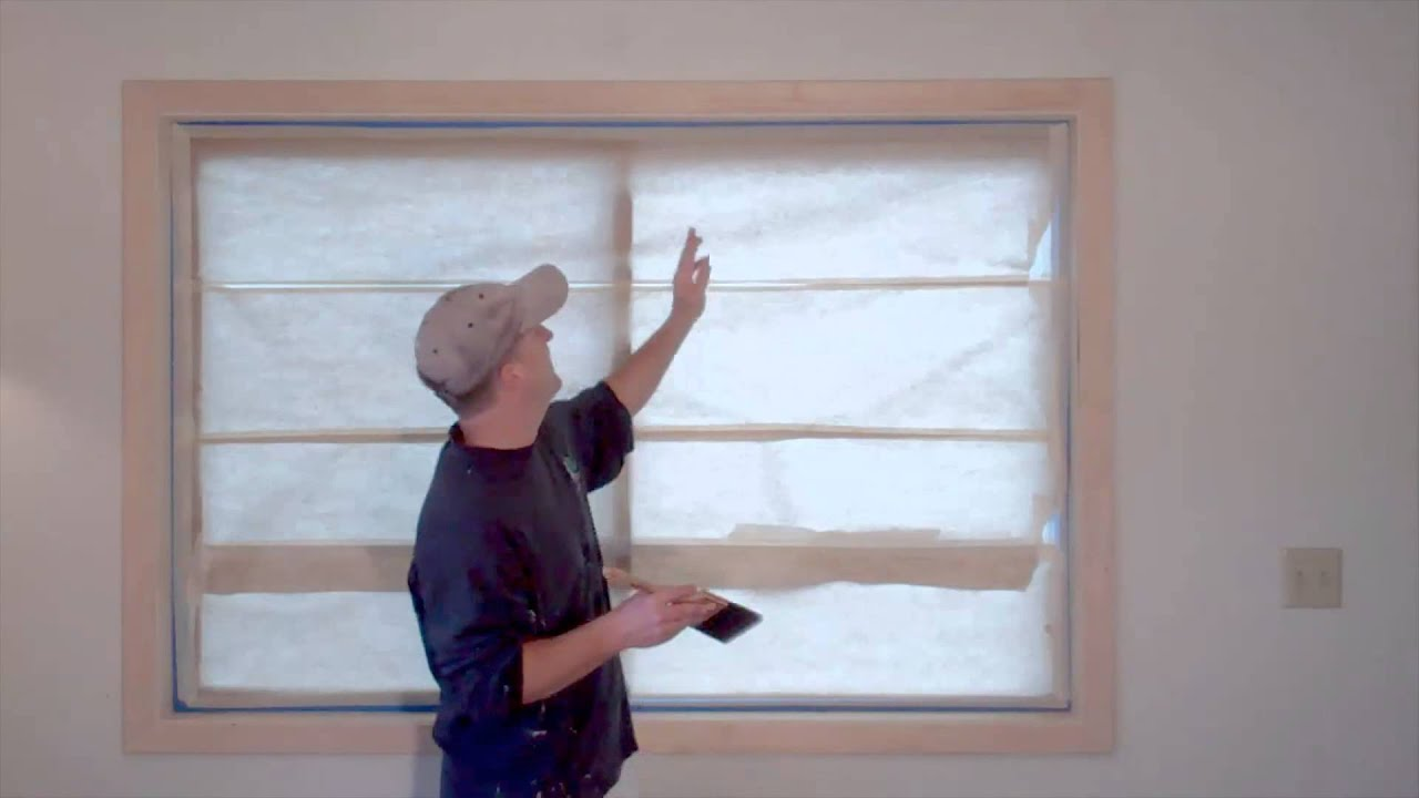 Painting wood trim interior house painting tips youtube for How to paint wood windows interior