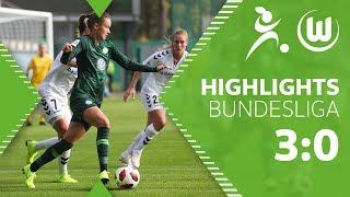 VfL Wolfsburg Frauen - SC Freiburg 3:0 | Highlights | Frauen Bundesliga