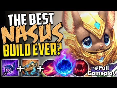 THE BEST NASUS BUILD EVER? | FORGET EVERYTHING YOU KNEW | AP Nasus vs Rammus TOP SEASON 8 Gameplay