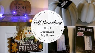 Fall Decor 2018 | How I Decorated My House
